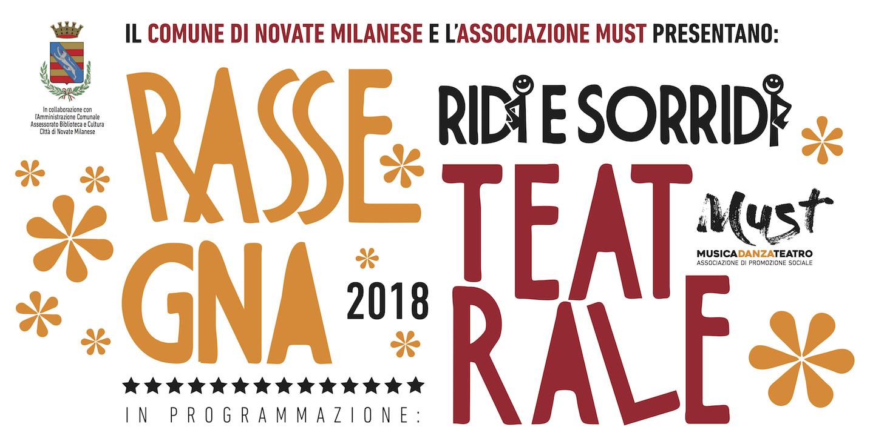Scuola Di Musica Novate Milanese.Rassegna Teatrale 2018 Spazio Must