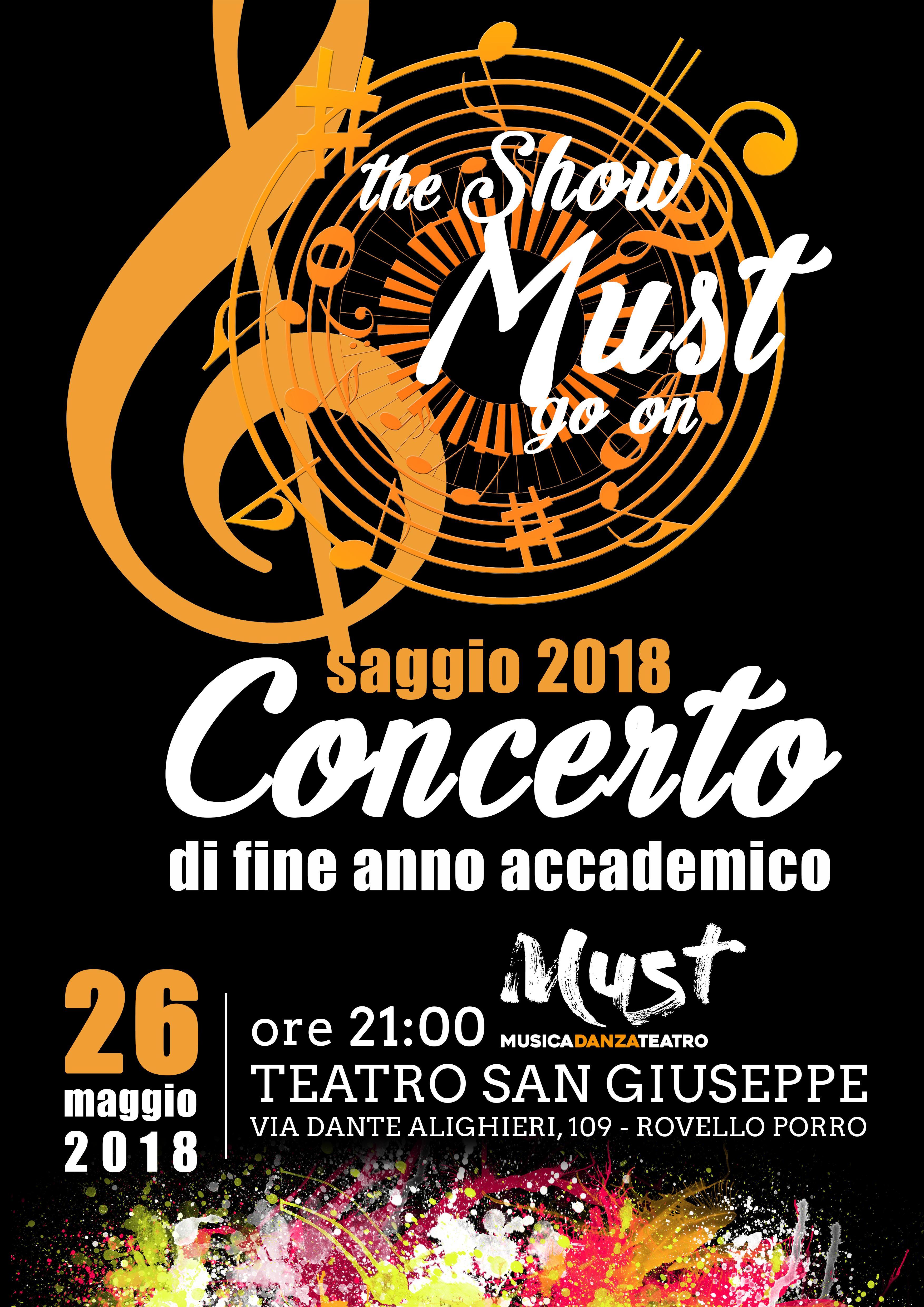 Saggio di Musica | Spazio Must - Saronno