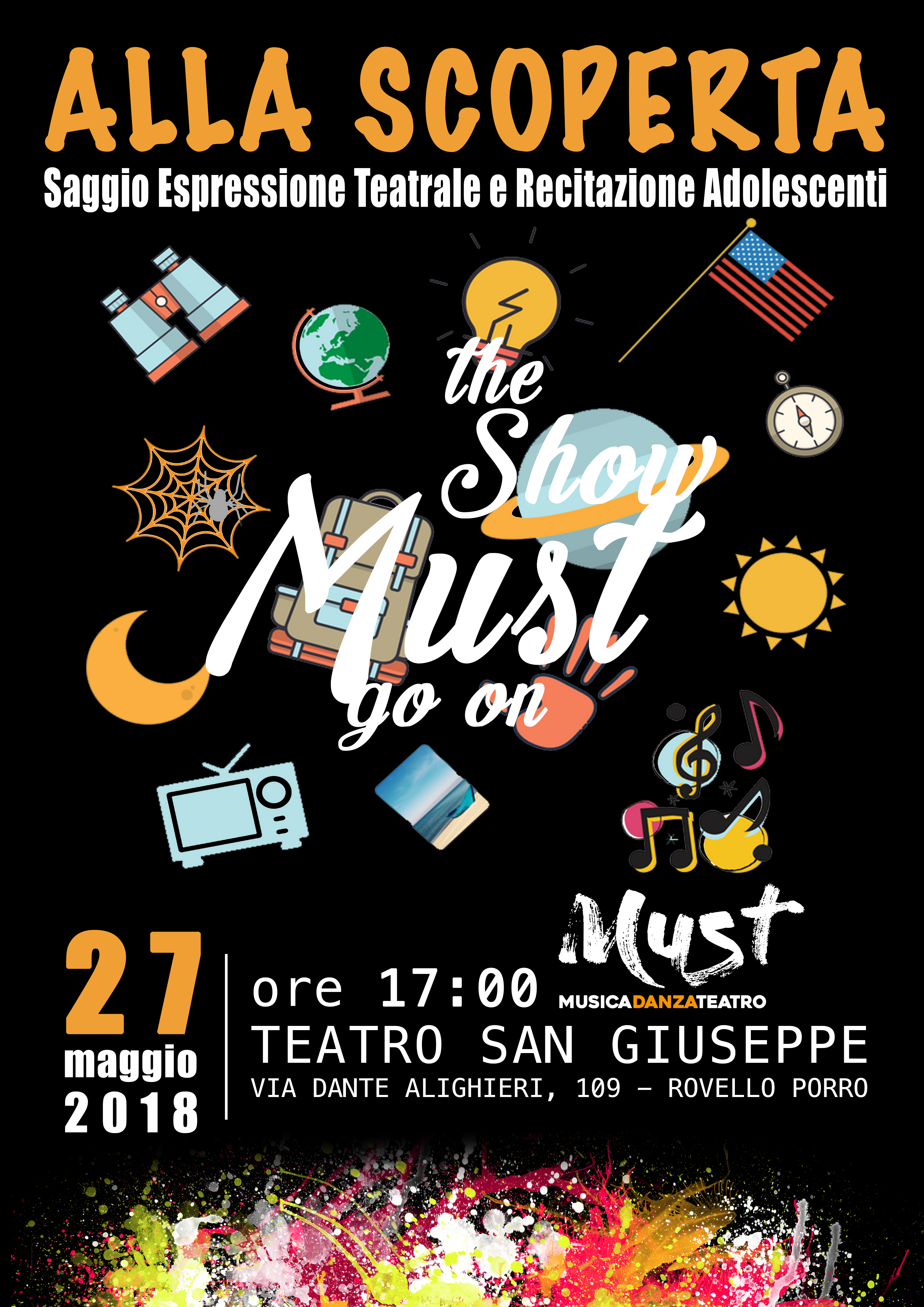 Saggio di Teatro | Spazio Must - Saronno